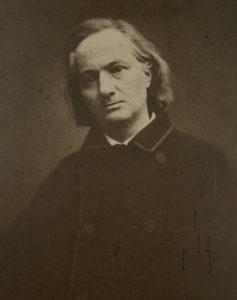 Charles Baudelaire photographie par Carjat 1865