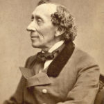 Hans Christian Andersen photographie par Thora Hallager - 1869