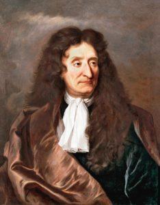 Jean de La Fontaine - Peinture par Hyacinthe Rigaud - 1690