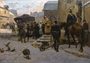 Boule de Suif de Guy de Maupassant - Peinture de Paul-Émile Boutigny - 1884
