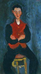 Joseph de Guy de Maupassant - Peinture - Valet de chambre