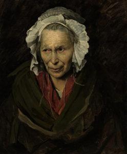 La Folle de Guy de Maupassant - Peinture de Théodore Géricault - La Monomane de l'Envie - 1819