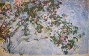 La Plus Belle Rose du Monde de Hans Christian Andersen - Peinture de Claude Monet - Roses - 1926