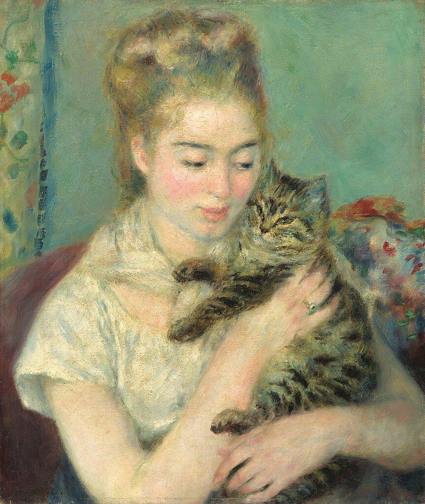 Le Chat Viens Mon Beau Chat Poeme De Charles Baudelaire Les Fleurs Du Mal
