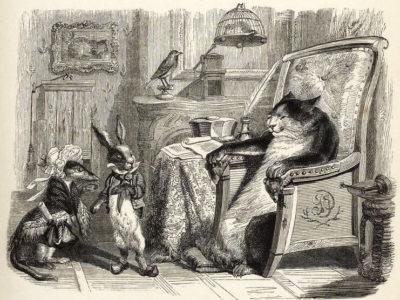 Le Chat, La Belette et Le Petit Lapin