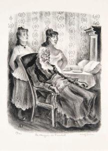 Le Marquis de Fumerol de Guy de Maupassant - Illustration - Le Vieillard