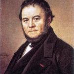 Stendhal - Peinture par Olof Sodermark - Portrait - 1840
