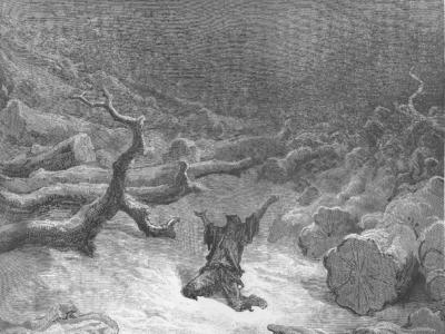 Le Bûcheron et Mercure