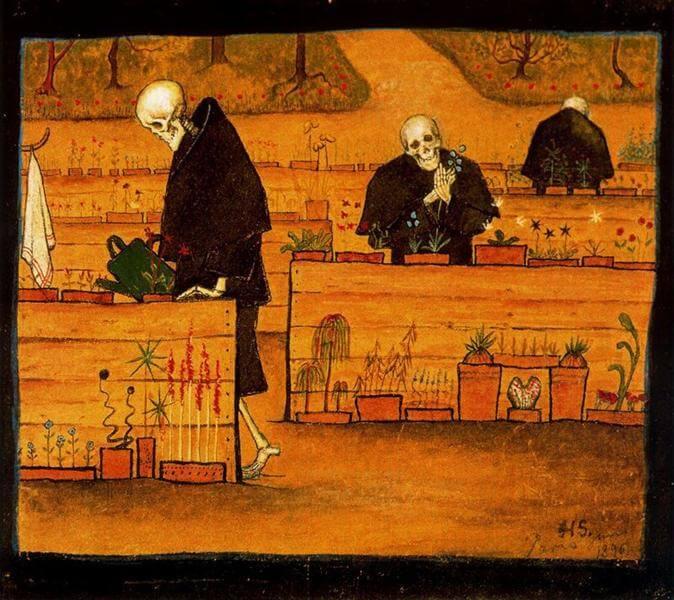 Le Mort Joyeux Poeme De Charles Baudelaire Les Fleurs Du Mal