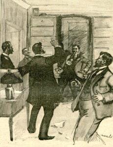 Le Testament de Guy de Maupassant - Illustration de Charles Morel