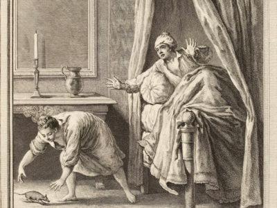 La Chatte Métamorphosée en Femme