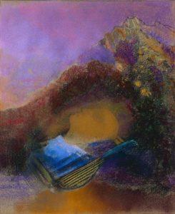 La Mort des Artistes de Charles Baudelaire dans Les Fleurs du Mal - Peinture de Odilon Redon - Orphée - 1916