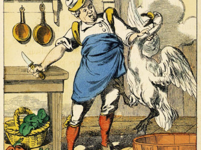 Le Cygne et Le Cuisinier