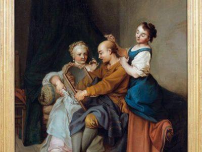 L'Homme Entre Deux Âges et Ses Deux Maîtresses