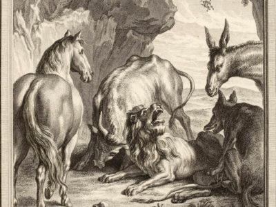 Le Lion Devenu Vieux