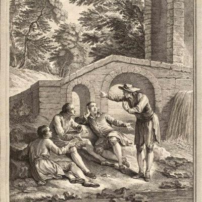 Le Marchand, Le Gentilhomme, Le Pâtre et Le Fils de Roi
