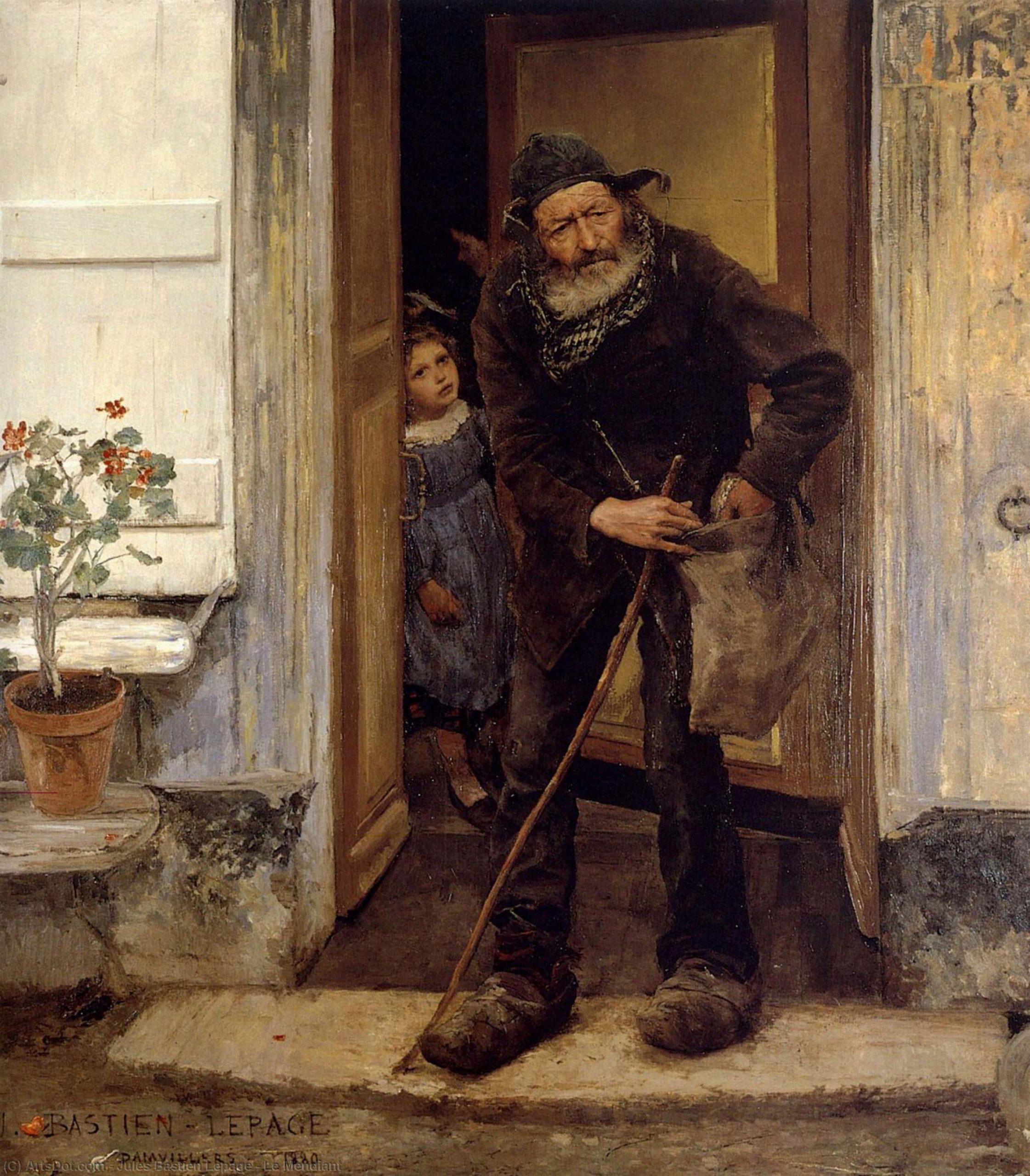 Le Mendiant - Poème de Victor Hugo - Les Contemplations