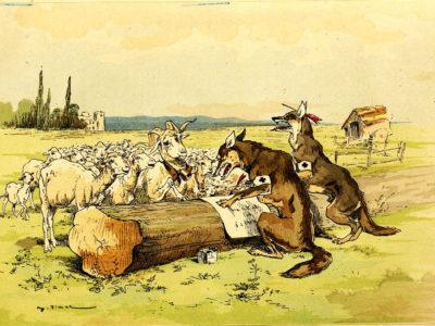 Les Loups et Les Brebis