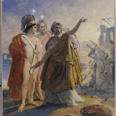 Simonide Préservé Par Les Dieux